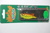 """Yamamoto 3 3//4/"""" Flappin/' Hog  FH-07-051 in BLACK//W Small Red Flkes for BASS//PIKE"""