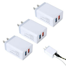 USB Wall Charger Plug AC Power Adapter for iPhone iPad Samsung Galaxy LG Android
