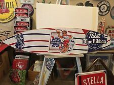 Pabst Blue Ribbon Cool Blue Surfboard