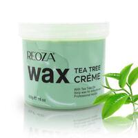 Hair Removal Soft Crème Wax Reoza Tea Tree Depilation Waxing 425g Pot Salon