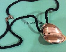 Tiffany & Co. Frank Gehry X Large Double Heart Leaf 925 Sterling Silver Pendant