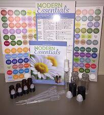 219 Piece Essential Oil Roll On Vials Lot doTERRA Labels Modern Essentials Guide