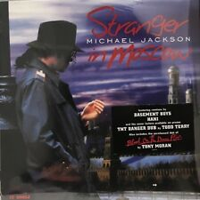 """Michael Jackson Stranger in Moscow 12""""Vinyl 1997 USA New and Sealed"""