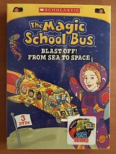 The Magic School Bus: Blast Off From Sea To Space (DVD, 2012, 3-Disc Set) Sealed