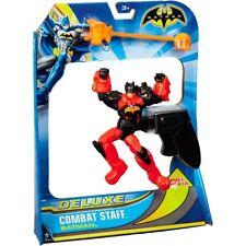 """Batman Deluxe Super Combat Staff Batman  6"""" Action Figures"""