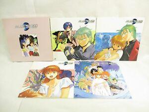 Laserdisc BLUE SEED No.10 to 13 Yuzo Takada Megumi Hayashihra NTSC-J Laser Disc
