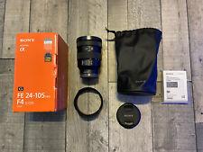 Sony SEL FE 24-105mm F/4-22 G OSS Full Frame Lens