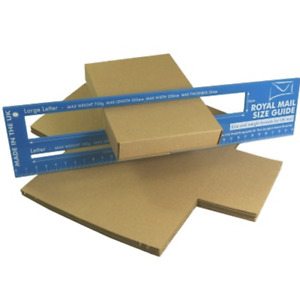 C6 A6 Large Letter Boxes For Shipping Mailing Royal Mail Box Various Amounts