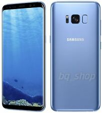 "Samsung Galaxy S8 G950FD Blue 64GB 4GB RAM 5.8"" Octa-core Android Phone By FedEx"