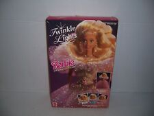 1993 Mattel Twinkle Lights Barbie Doll 10390 New in Box