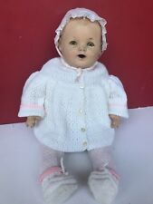 "Antique Vintage Large Composition Doll 22"" Dream Baby"
