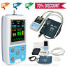 24 Stunden Patientenmonitor Ambulantes Blutdruckmessgerät SPO2 NISP PR Software
