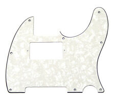 White Pearloid Humbucker Pickguard for Fender Telecaster/Tele® PG-9562-055