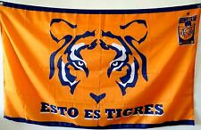 Tigres UANL Flag Banner 3x5 ft Monterrey Mexico Football Soccer Bandera Sticker