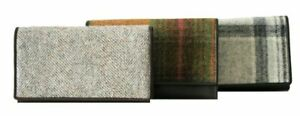 Mala Leather - Medium Flap Over Tweed Purse Various Colours RRP £33.00