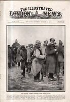 1916 London News March 11 - Erzerum Armenia captured by the Russians;German POWs