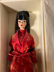 Barbie Fashion Model Collection Chinoiserie Red Moon Silkstone Doll Mattel 2004