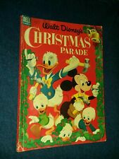 Walt Disney's Christmas Parade #5 Nov 1953, Dell giant comics golden age precode