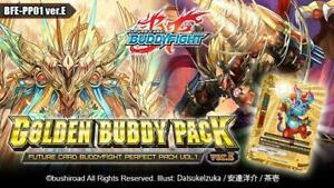 Future Card Buddyfight BFE-PP01 Golden Buddy Pack Booster Box