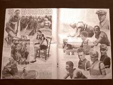 Ciclismo 1935 Cazzulani Vignoli Trueba Fraccaroli Girardengo Olmo Martano Guerra
