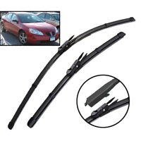 "2pcs Wiper Blades Front Window Set For Pontiac G6 2005 - 2010 24"" 21"" 07"