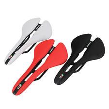 Bicycle Seats EVA Microfiber Leather MTB Road Bike Hollow Saddles Comfort Seat