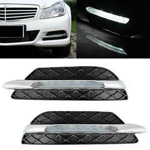 LED Tagfahrlicht Tagfahrleuchte mit Blende für Benz W204 C-Klasse 2011-2013 DA