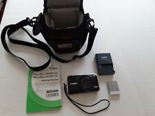 Canon PowerShot SX230 HS 12.1MP Digital Camera - Black - With Memory Card & Case
