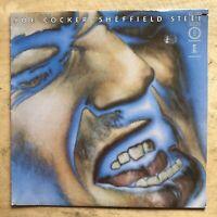 Joe Cocker Sheffield Steel Vinyl LP Island Records ISM-9750
