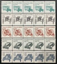 ***NICE***1985-87 US Transportation Coil Strips of 5: Mint/NH Scott # 2123-2132