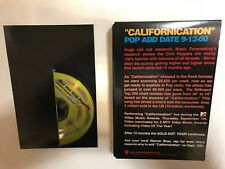 RED HOT CHILI PEPPERS CALIFORNICATION RARE U.S. PROMO-ONLY CD & VHS EPK 2000 NM!