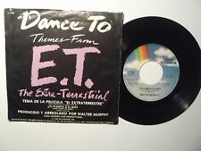 "E.T THE EXTRA-TERRESTRE "" DANCE TO "" MCA 1982 - GOOD - MEXICAN Single 7''"