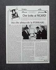AI43- Clipping-Ritaglio -1982- DIDIER PIRONI ALLA PENNA