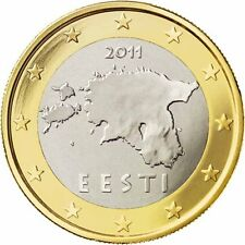 ESTONIA - 1 € Euro circulation coin  2011 UNCIRCULATED