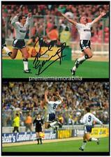 TOTTENHAM HOTSPUR FC 1991 FA CUP SEMIFINAL PAUL GASCOIGNE GAZZA SIGNED (PRINTED)
