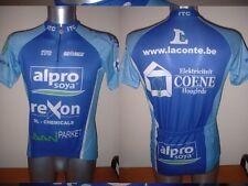 Alpro Soya Bio-Racer Shirt Jersey Top Adult Small Cycling Cycle Bike Rexon