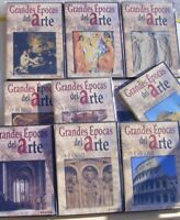 GRANDES ÉPOCAS DEL ARTE 10 dvd HISTORIA DEL ARTE