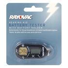 kQ RAYOVAC Hörgeräte Batterietester inkl. Batteriefach für Typ 10 13 312 675