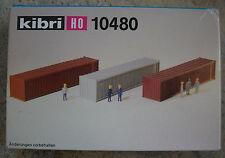 Kibri 10480 h0 1:87 3x 40 piede container rarità