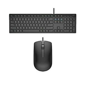 Dell KB216 Wired Keyboard Black with Mouse New MS116 UK Set * Next Day Delivery*
