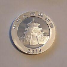 China 1oz Silver Panda Coin 2014