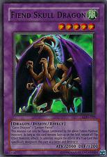 Yu-Gi-Oh Fiend Skull Dragon lod-039 2. Edition Sr estrechamente LP