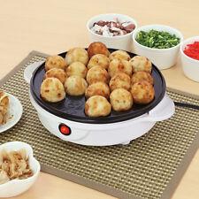Electric Takoyaki Cooker Takoyaki Pan 18 molds Japanese Foods AC 100V 50/60Hz