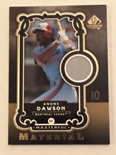 Andre Dawson 2007 SP Legendary Cuts Masterful Material Jersey Expos HOF