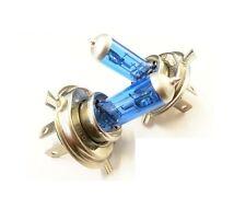 2 x H4 55W BLUE SET XENON Optik Halogen Lampen 8500K  Autolampen Abblendlicht