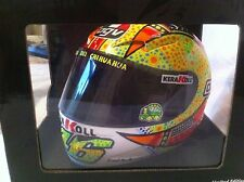 Minichamps 1:2 Scale V Rossi AGV Helmet MOTOGP Phillip Island 2007.