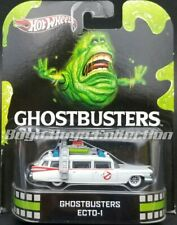 Hot Wheels Retro Entertainment 1st Release Ghostbusters Ecto-1Real Riders