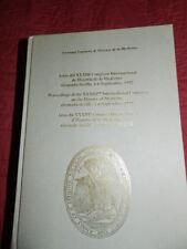 Sociedad Espanola de Historia de la Medicina. Acts of the 33rd Congress 1992