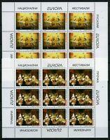 Makedonien Kleinbögen MiNr. 128-129 postfrisch MNH Cept (OZ1354