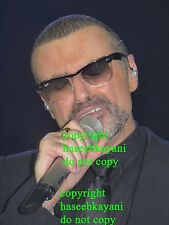 8x6 Photo Three 2011 George Michael Royal Albert Hall Symphonica Concert Photo
